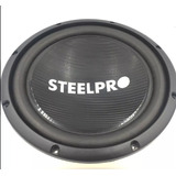 Subwoofer Steelpro 12 Pulg Con Iman Doble Carbon1250