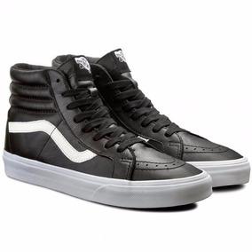 vans bota negra