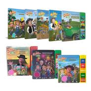 Clarín Colección Libros Con Sonido Set 7 De 8 Libros
