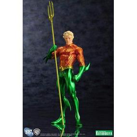New 52 1/10 Artfx Estatua Kotobukiya Aquaman Justice League