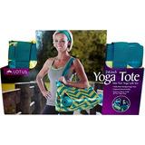 Lotus Yoga De Lujo De 24 De Mano Yoga Verde Y Amarillo De C