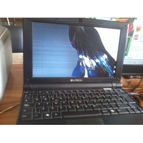 Laptop Utech Ux101blk-pantalla Mala Funciona Con Monitor