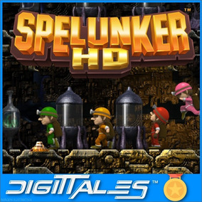 Spelunker Hd - Juego Digital Entrega Ya!!! - Digittales