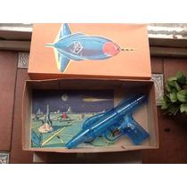 Pistola Nave Jet Espacial Taiwan Retro 60s Nueva En Caja !!