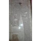 Jeans Destroyed Talla 3 /26 Y Blusa Animal Print M