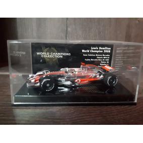 1/43 Miniatura Mclaren Hamilton Minichamps Campeão F1 2008