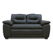 Love Seat De Piel Genuina Regel - Confortopiel