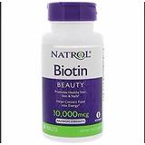 Biotina Natrol Usa 10,000mcg Barba,cabellos,uñas 100tabletas