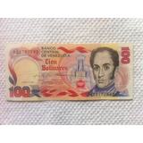 100 Bolívares (29 Enero 1980)