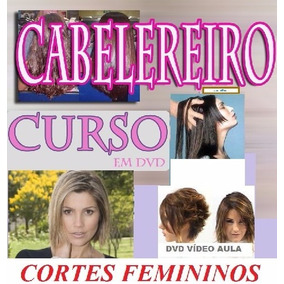 Aulas De Cabeleireiro 40 Cortes Femininos Curso Em 4 Dvds Cb