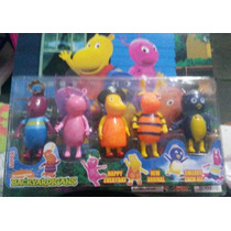 05 Miniaturas Bonecos Backyardigans
