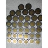 Monedas 5 Pesos Bicentenario Y Revolucion Coleccion Completa