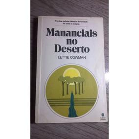 Livro Mananciais No Deserto - Lettie Cowman