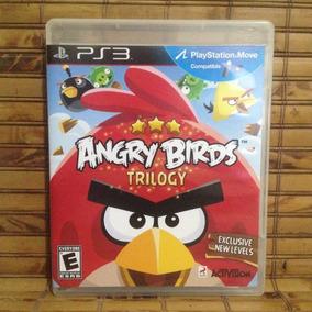 Jogo Ps3 - Angry Birds Trilogy