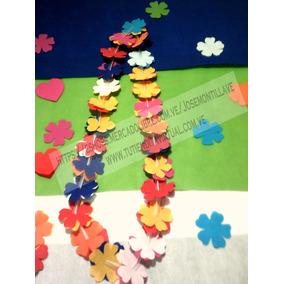 Collares Hawaianos De Flores Hora Loca Somos Fabricantes