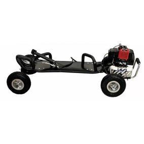 Skate Motorizado Carve Á Gasolina 50cc