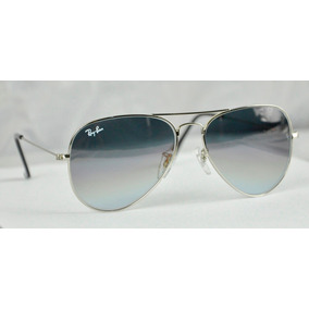 Lente Ray-ban Aviator 3025/ 3026 Degrade Gunmetal Originales