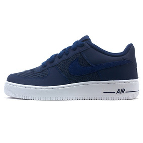 Nike Air Force 1 Amarilla Hombre Zapatillas Nike Azul en
