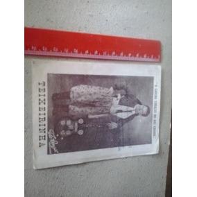 Foto Antiga Teixeirinha Autografo A Caneta