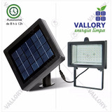Kit 02 Refletor 54 Leds Energia Solar Dia/noite Placa 5v 2w