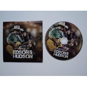 Cd Original - O Melhor De Edson E Hudson Promo