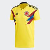 Camiseta Oficial Selección Colombia Rusia 2018 adidas Origin