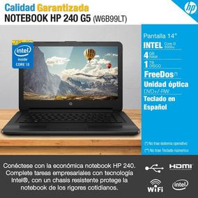 Notebook Hp 240 G5 14 Core I5 4gb Hd 1tb Nueva En Caja