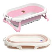 Bañera Plegable Bebe Infanti  Tapon Marca Temperatura Agua