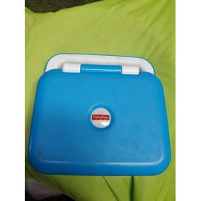 Laptop Inglês Fisher Price A Tampa Da Bateria Foi Adaptada