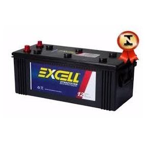 Bateria Excell Flex Ef135 Amper Trator Caminhão Som