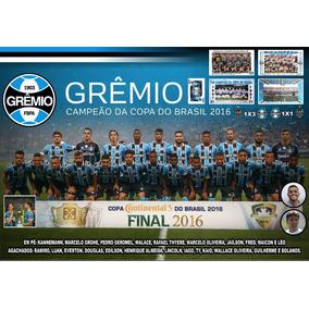 Pôster Grêmio Campeão Copa Do Brasil 2016