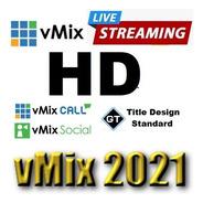Vmix Hd Oficial Com Suporte E Assessoria Técnica