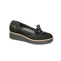 Zapatos Mocasines De Gamuza Plataforma Calzados New Pierre