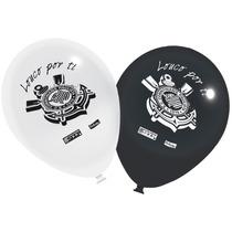 Balão (bexiga) Corinthians - 25 Unidades