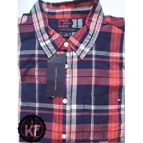 Camisa Xadrez Tommy Hilfiger Original - Feminina