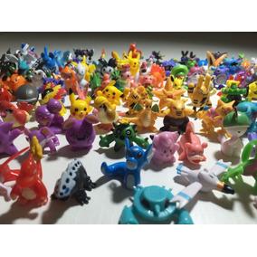 Pokémon 24 Bonecos Miniaturas 2~3cm Tem Pikachu Não Repetido