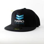Gorra Haro Bmx Negra Regulable - Logo Grabado
