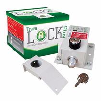 Trava Elétrica P/ Portão + Módulo Temporizador Ipec - 220v