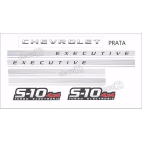 Faixa Adesivo Chevrolet S10 Executive 4x4 2009 Prata
