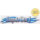 Emblema Adesivo Super Surf Saveiro Parati Gol 03/08 Cinza