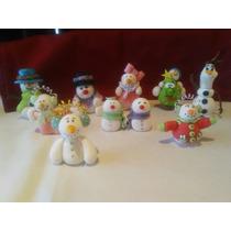 Figuras Navideñas Porcelana Fria