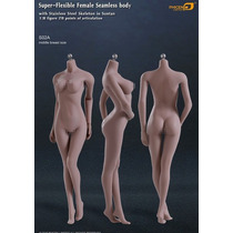 Phicen Cuerpo Femenino Busto Mediano S02a Hot Toys Sideshow