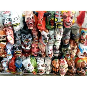 Mascaras Halloween Dia De Muertos Economicas Latex Zombies