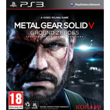 Metal Gear Solid Ground Zeroes Ps3 Digital
