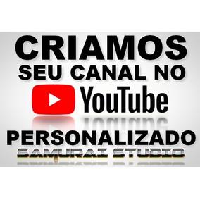 Criar Canal Youtube Personalizado - Perfil / Capa / Intro