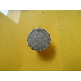 Moneda Antigua 1 Anna 1916 De La India