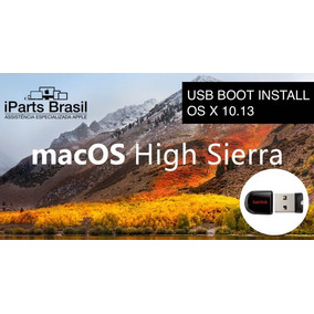 Pendrive Boot Mac Os X Apple High Sierra El Capitan Yosemite