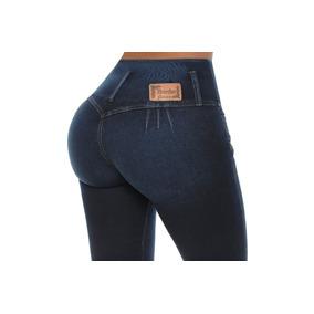 Jeans Colombiano Levanta Cola Azul Oscuro / Grupoborder