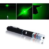 Lápiz Puntero Láser Verde Visible Rayo De Luz Militar 532mn