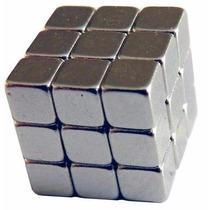 Super Ímã De Neodímio 5 X 5 X 5 Mm 27 Pç N50 6300 Gauss